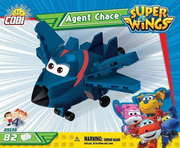 Cobi 25135 Super Wings Agent Chase