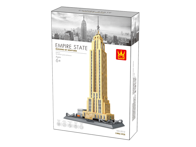 Wange 5212 Architect-Set The Empire State Building New York