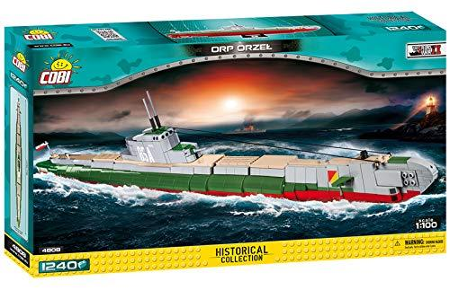 Cobi 4808 polnisches U-Boot ORP ORZEL  (War Ships WWII Historical Collection)