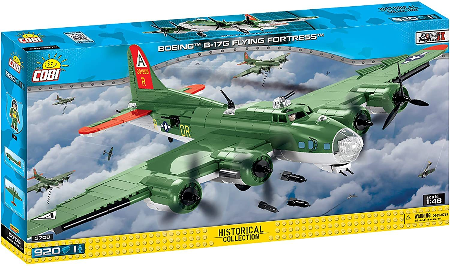 Cobi 5703 Boeing™ B-17G Flying Fortress™ (Historical Collection - WWII - Planes)