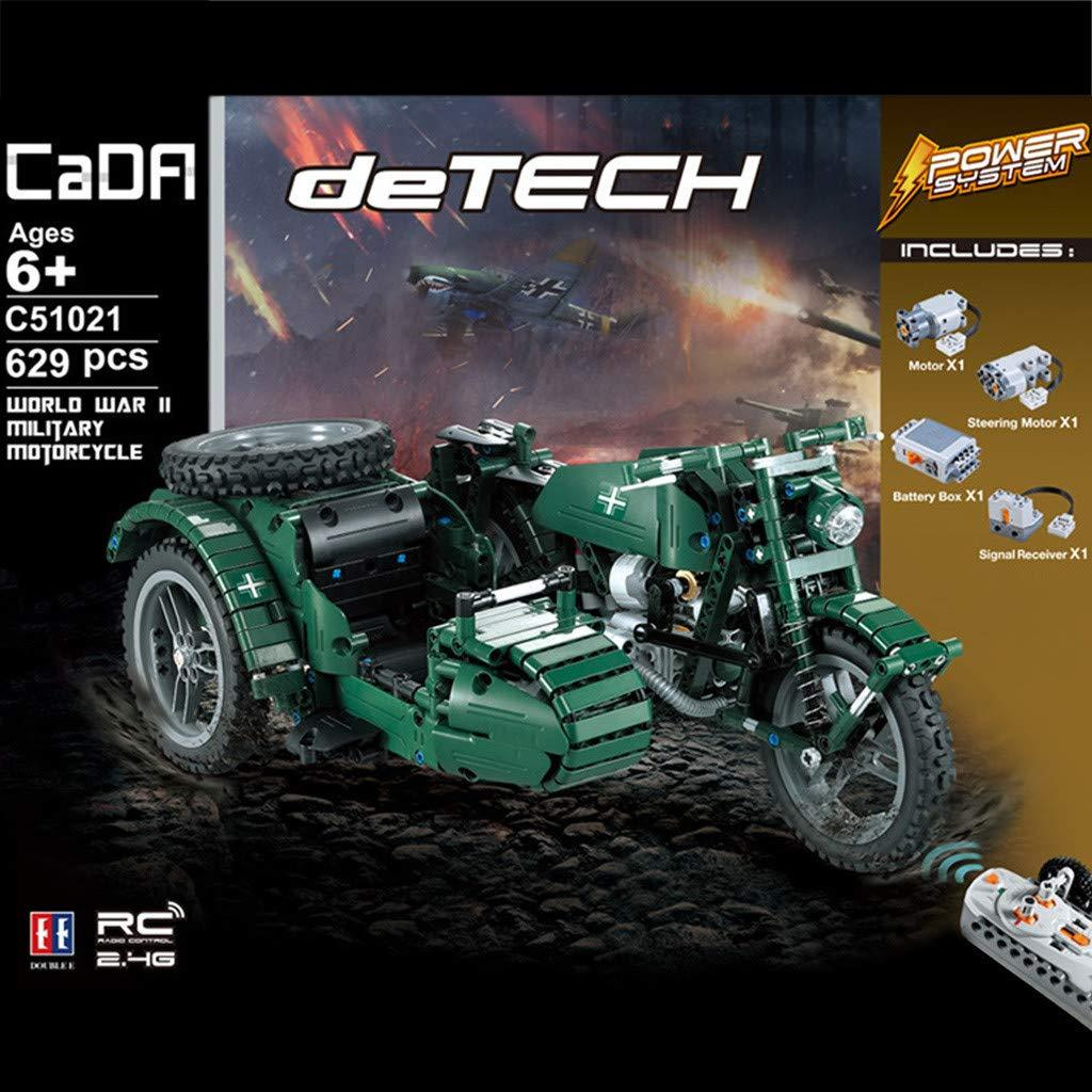CaDA / Double E C51021 deTech WWII Military Motorcycle