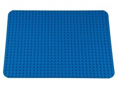 Strictly Briks Stackable Baseplate Big Brick 41x34cm 26x22 Noppen Blau