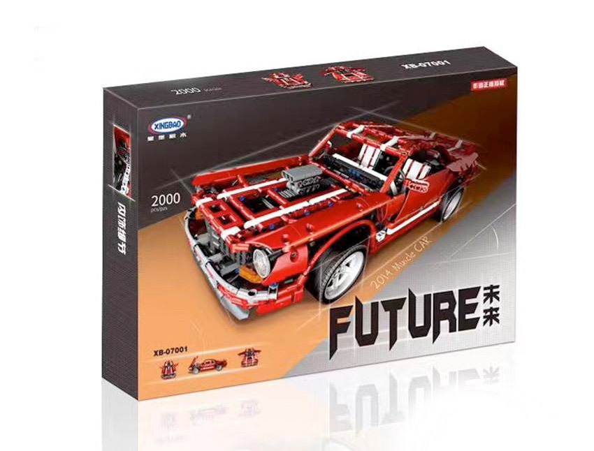 XingBao XB-07001 2014 Muscle Car (Gigabronc) Teilespender