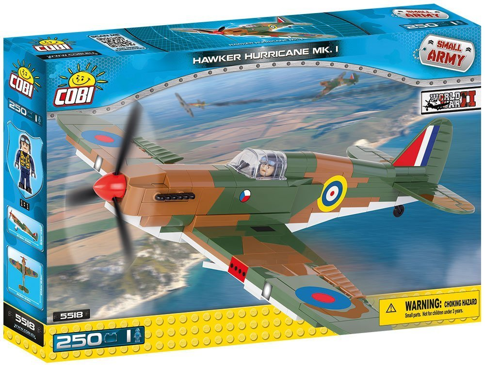 Cobi 5518  British Army Hawker Hurrican MK. I (Historical Collection - WWII - Planes)