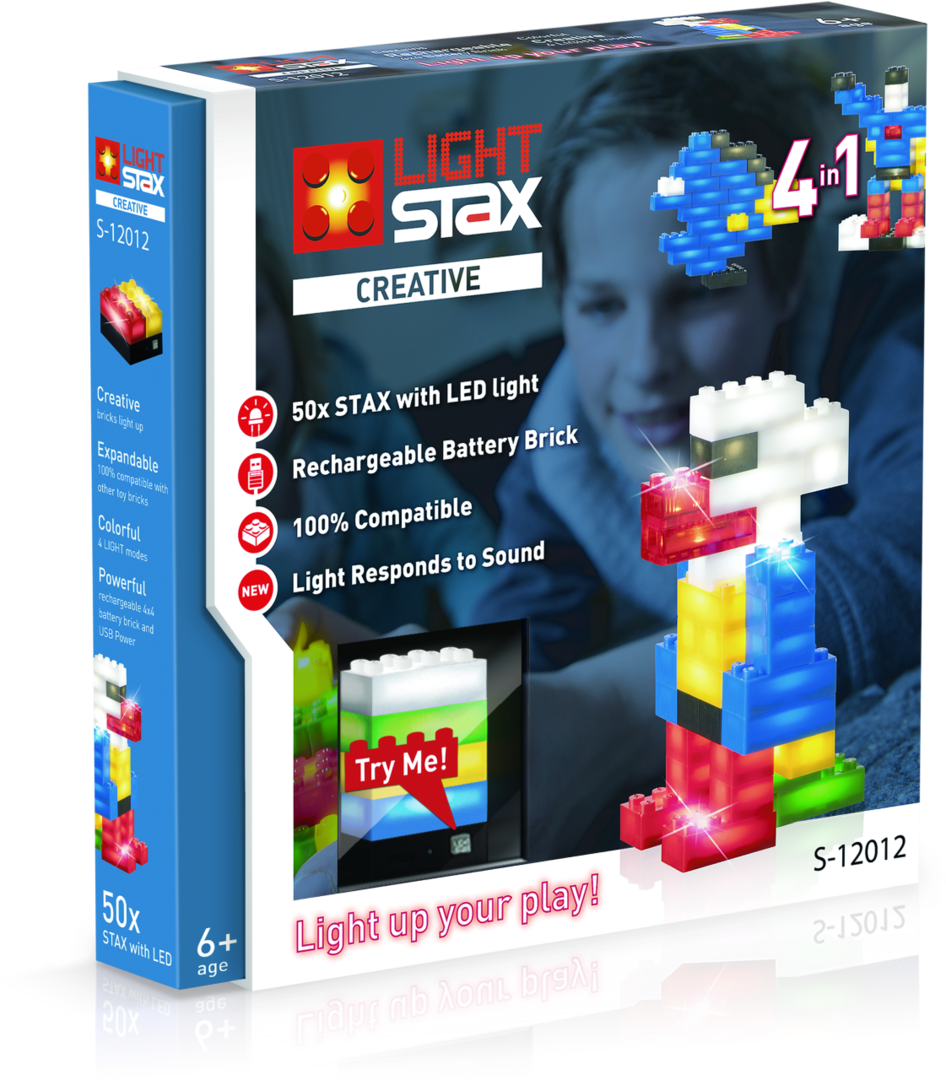 Light Stax Creative (4-in-1) 12012 50 Stax