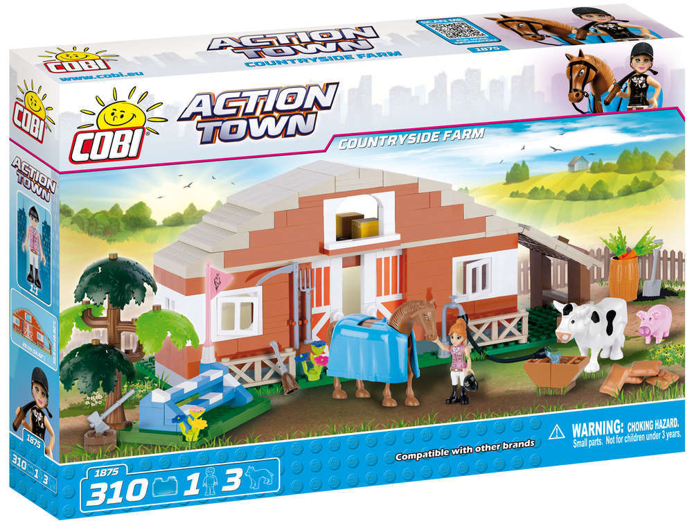Cobi 1875 Country Side Farm (Action Town)