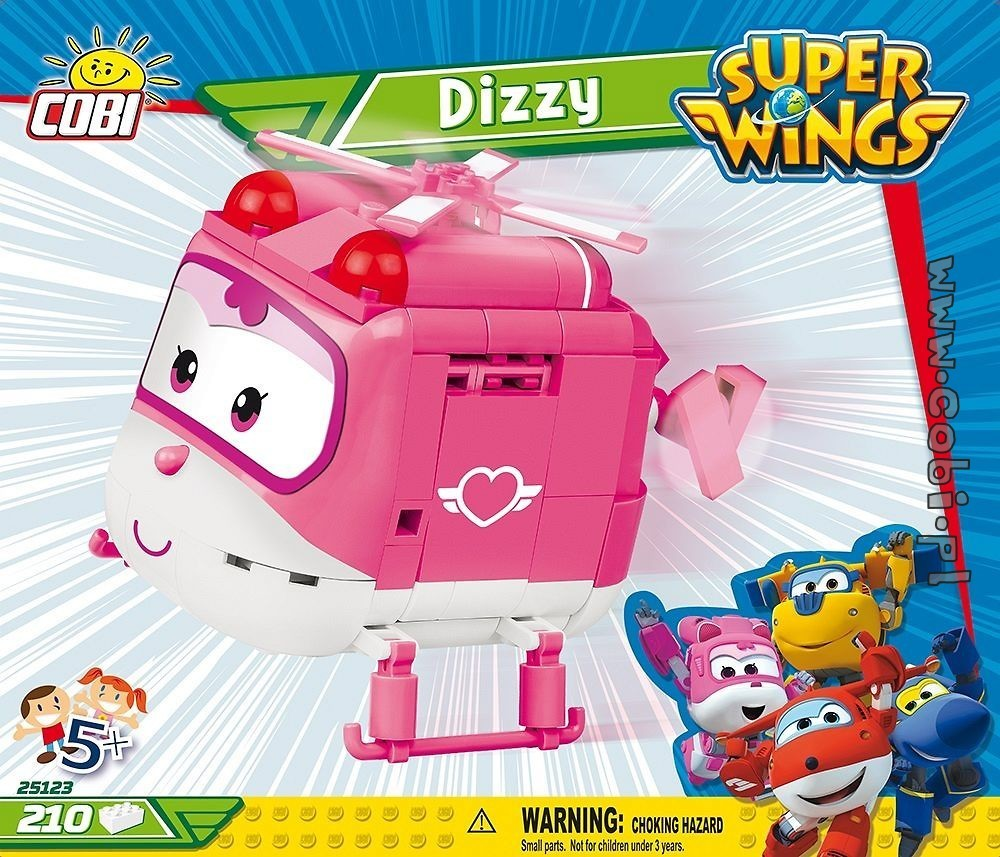 Cobi 25123  Super Wings Dizzy