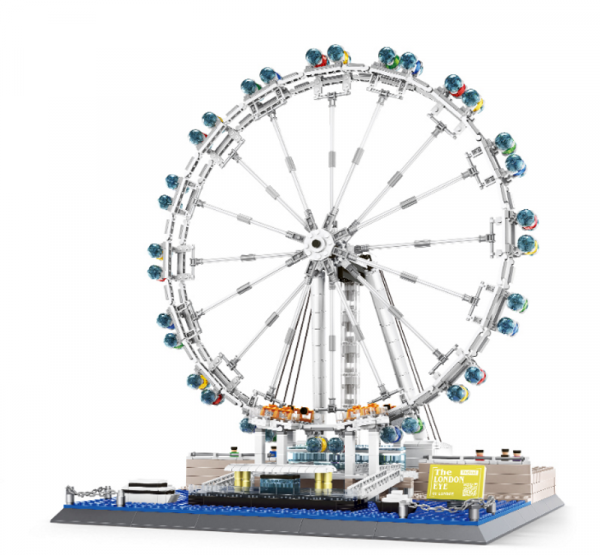 Wange 6215 Architect-Set London Eye - Millenium Wheel Riesenrad