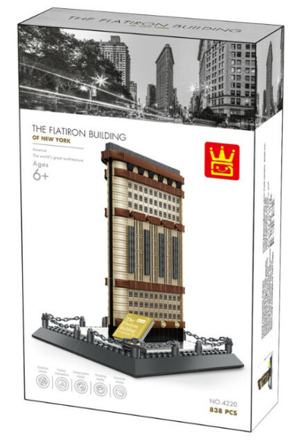 Wange 4220 Architect-Set The Flatiron Building of New York