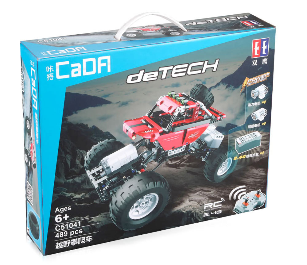 CaDA / Double E C51041W deTech Off-Road Climbing Car