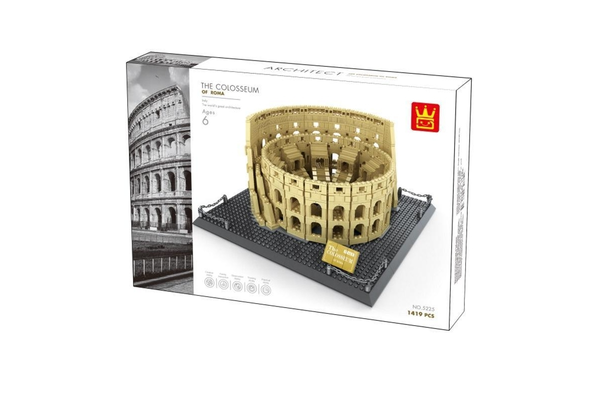 Wange 5225 Architect-Set Colosseum of Roma (Kolosseum Rom)