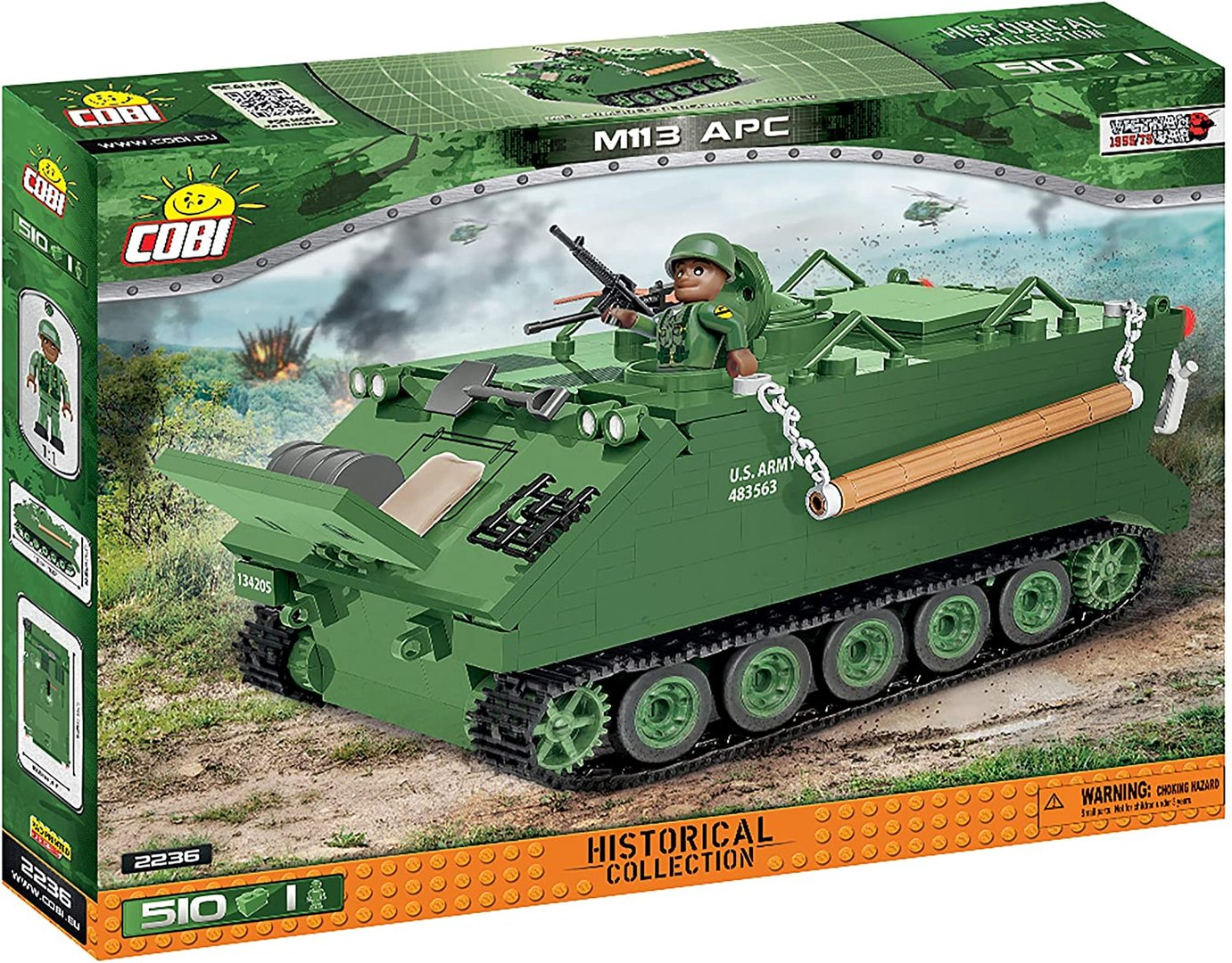 Cobi 2236 Tank M113 Armored Personal Carrier (Small Army) Panzer