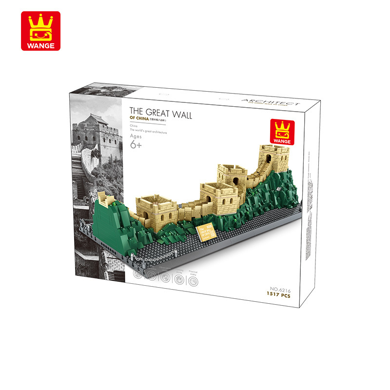 Wange 6216 Architect-Set The great Wall of China -  Die Chinesische Mauer