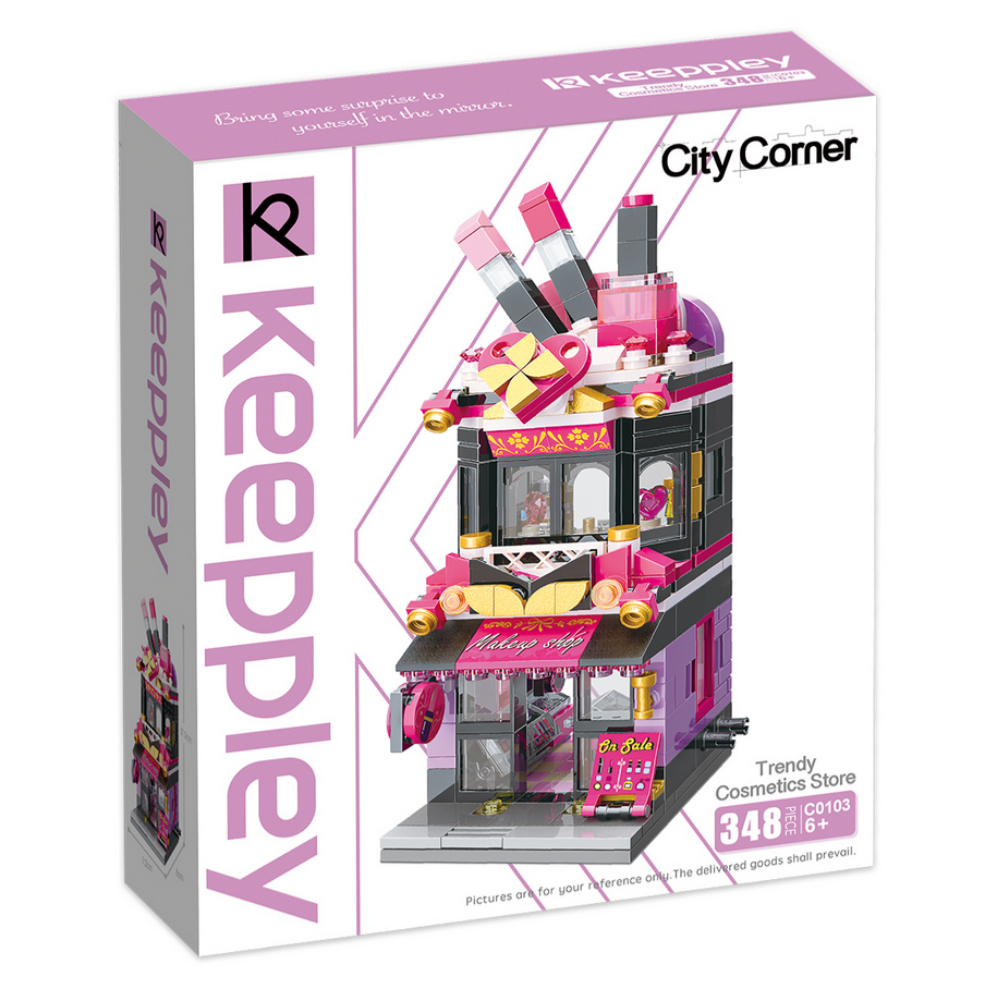 Keeppley by Qman C0103 City Trendy Cosmetics Store Parfümerie