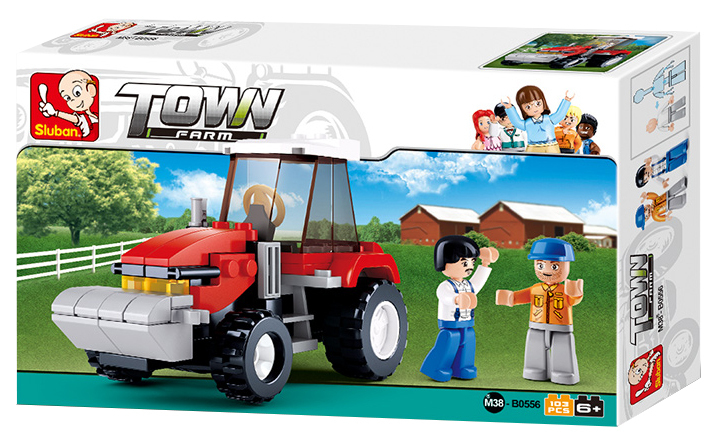 Sluban M38-B0556 Happy Farm Traktor