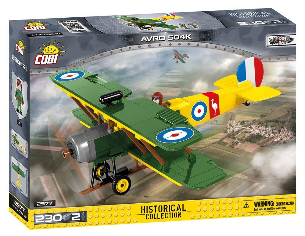 Cobi 2977 AVRO 504K (Historical Collection WWI)