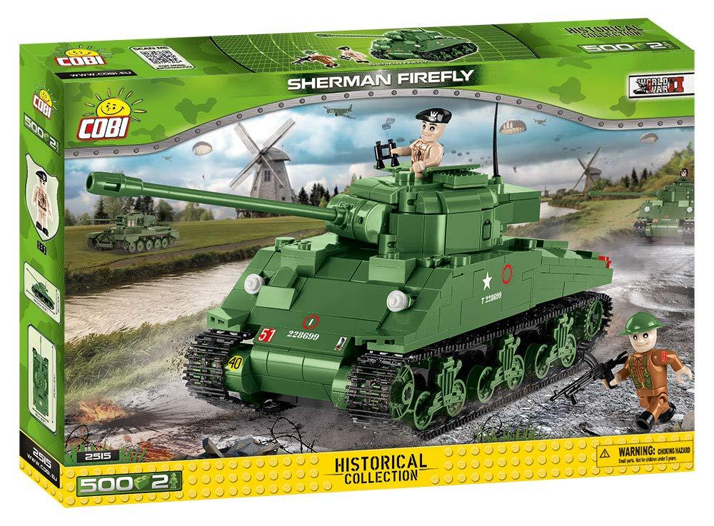 Cobi 2515  British-Army Sherman Firefly Tank (Historical Collection WWII)