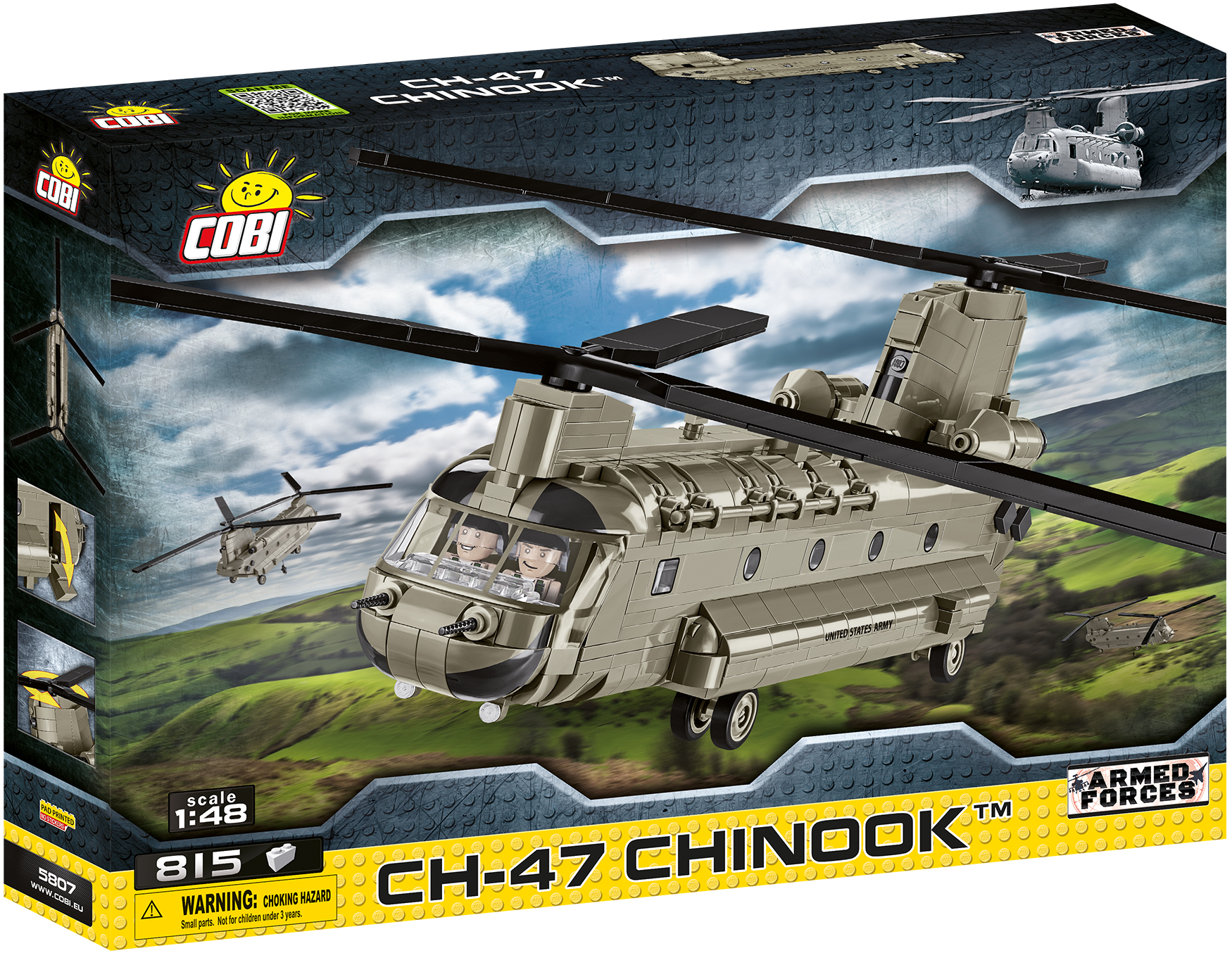 Cobi 5807 CH-47 CHINOOK Hubschrauber (Armed Forces - Planes)