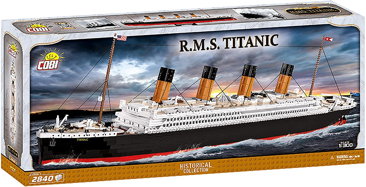 Cobi 1916 R.M.S. Titanic Pad printed - no Stickers (Historical Collection) Neues Modell