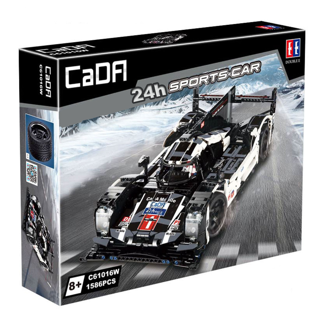 CaDA / Double E C61016W deTech 24h Racer Langstrecken-Sports-Car